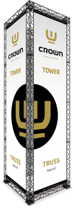 CROWN-Truss-Tower 1,54 x 1,54 x 5,17m