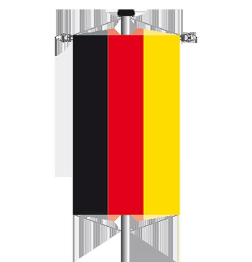Bannerfahnen mit Banneraufhängung