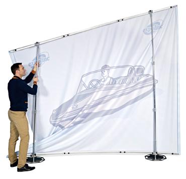 Fabric-System aufbau von expolinc