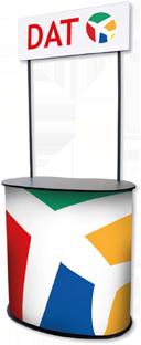 Oval-Theke - mit Topschild lieferbar